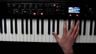 Piano Tutorial Struggle For Pleasure by Wim mertens Part 1 Intro