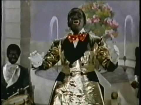 Al Jolson Blackface Minstrel Show