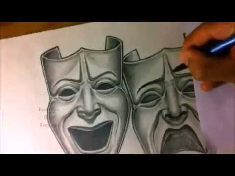 Smile Now Cry Later Chicano Art Drawing