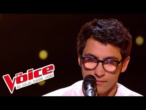 Vincent Vinel - « Feel » (Robbie Williams) | The Voice France 2017 | Live