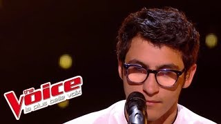 Feel - Robbie Williams | Vincent Vinel | The Voice France 2017 | Live