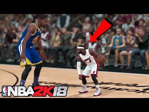Mini LeBron James! He's so tiny NBA 2K18!