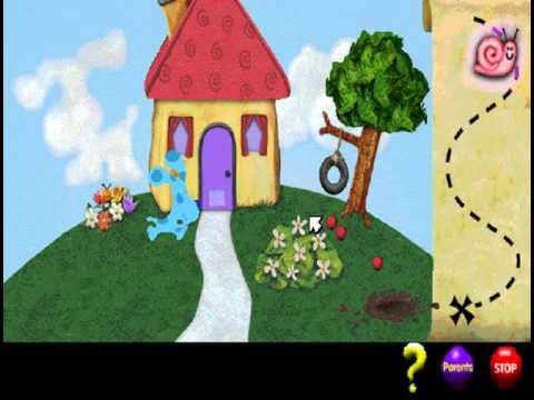 Blue's Clues #311 : Treasure Hunt! (Windows game 1999 ...