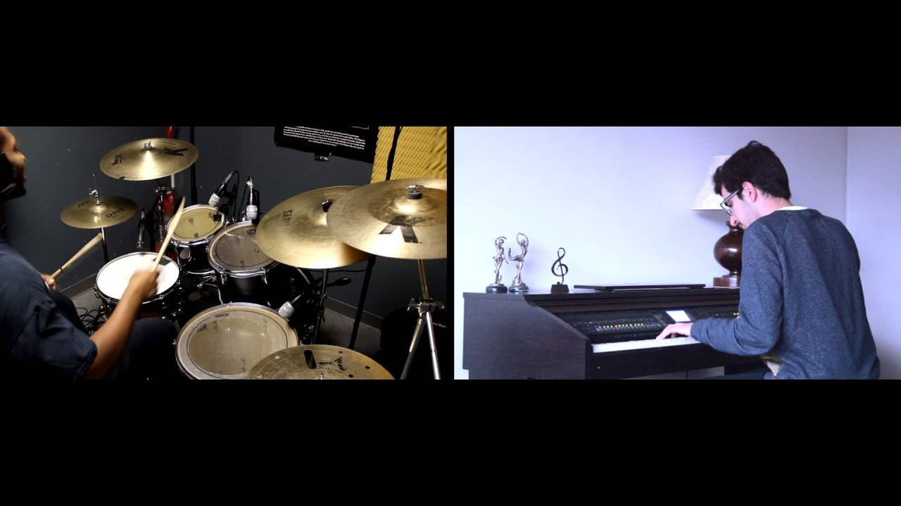 piano and drums