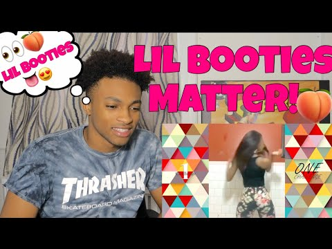 *👀🍑* Lil Booties Matter Challenge Dance Compilation REACTION #marieexjahlilbooty #litdance