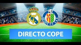 (SOLO AUDIO) Directo del Real Madrid 1-0 Getafe en Tiempo de Juego COPE