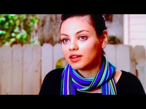 Mila Kunis FULL INTERVIEW on That 70s Show (2006)