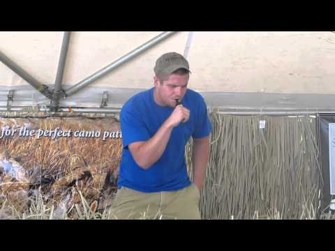 Gary Orr open meat duck calling at Presleys outdoors