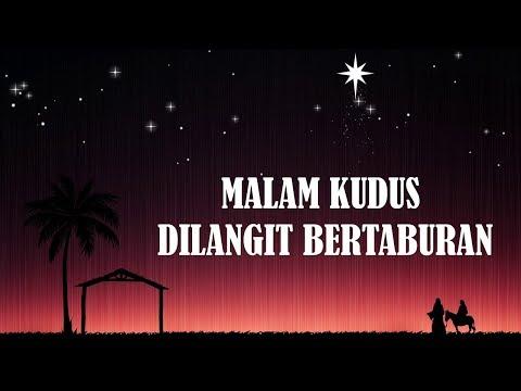MALAM KUDUS DILANGIT BERTABURAN