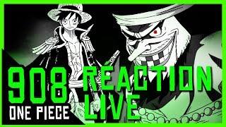 PURGE TOTALE - ODA : LE SEIGNEUR DE LA PLS - Réaction live chapitre one piece 908