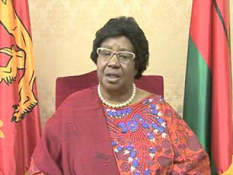 President Joyce Banda - Recorded Video