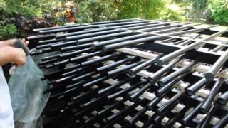 Comment poser la clôture OOBAMBOO de normaclo ? Système modulaire - Installation clôture