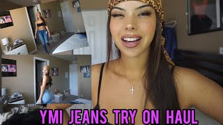 YMI jeans try on haul