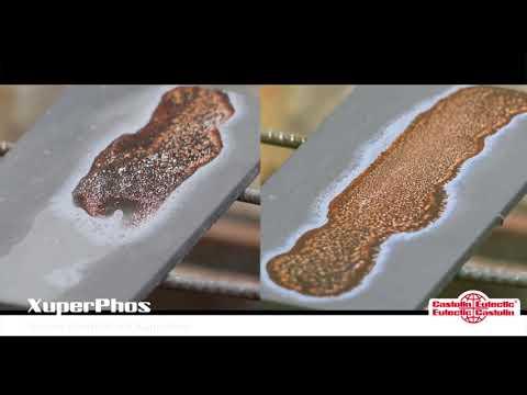 Kupfer-Phosphor-Hartlot mit der neuen XuperPhos-Technologie für stabile Fließfähigkeit