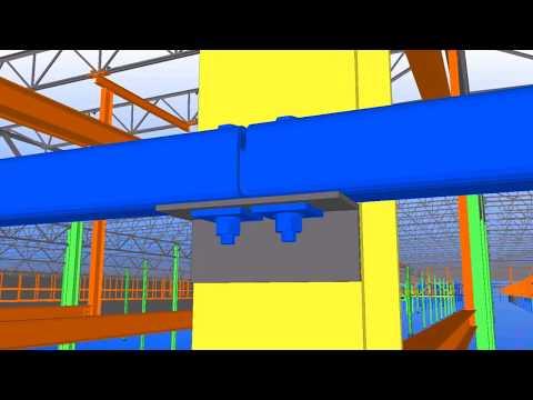 Tekla North America BIM Awards 2011 / Echo - Manufacturing facility