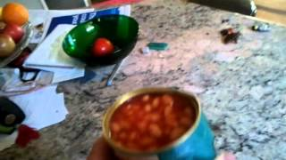 Baked Beans In The Party Hat