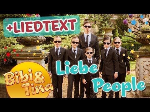 Bibi & Tina - LIEBE PEOPLE mit LYRICS TEXT  zum MITSINGEN!
