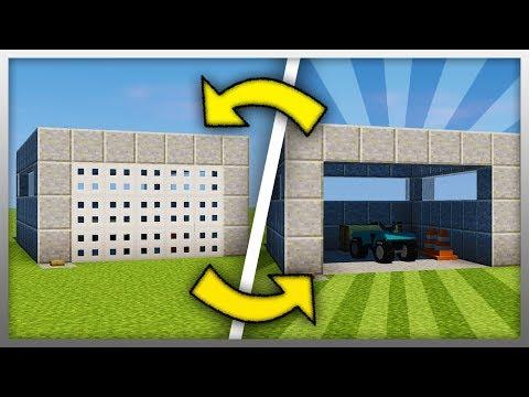 ✔️ How To Build a Working GARAGE DOOR! (Minecraft)