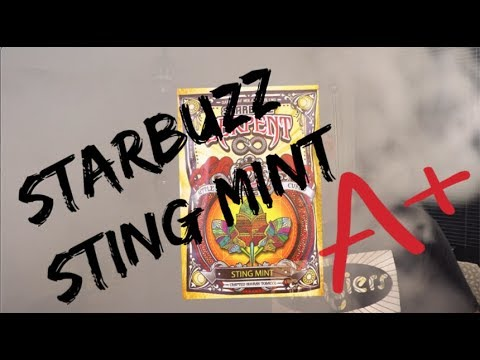 Starbuzz Serpent STING MINT Review