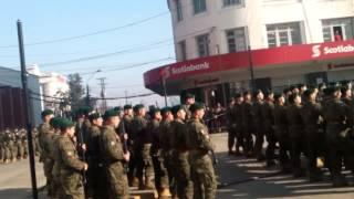 Desfile Juramento a la bandera. Osorno 2015