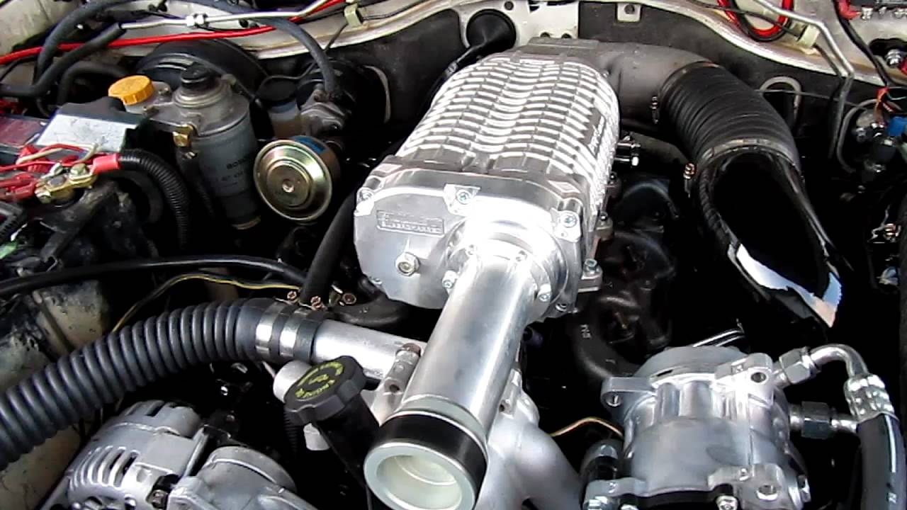 Nissan patrol 6 5L V8 supercharged