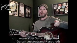Refugee - Tom Petty & the Heartbreakers -  Lefty Beginner Acoustic Guitar Lesson