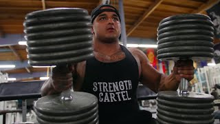 200 POUND DUMBBELLS | BIG BOY AND PITBULL | METRO FLEX LBC