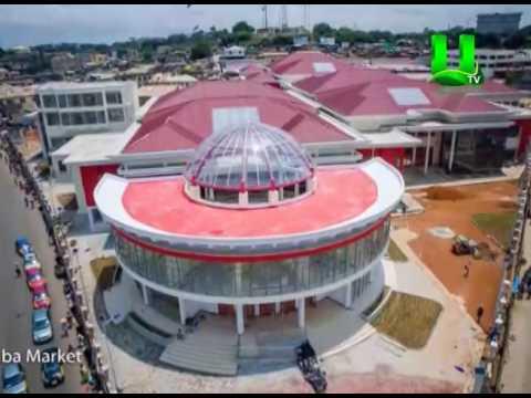 Mahama commissions New Kotokuraba market