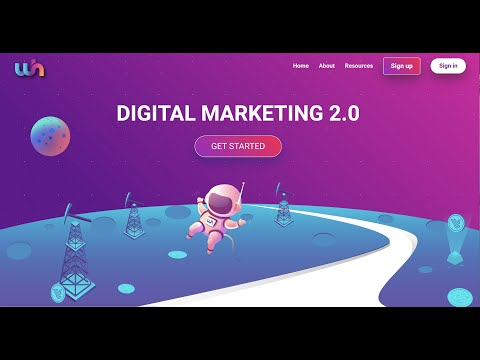 Webcoin ICO - Digital Marketing 2.0 in 4K