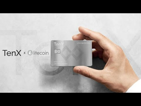 Litecoin And TenX To Launch Co-Branded Card - Bitcoin over $9,000 and XRP over $1 this Coming Week?