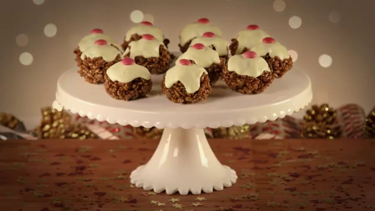 Christmas Rice Crispy Cakes