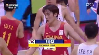 世界盃預選賽『中國VS韓國』,丁彥雨航30分助中國擊敗韓國!