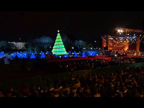 President Obama Delivers Remarks at the National Christmas Tree ...