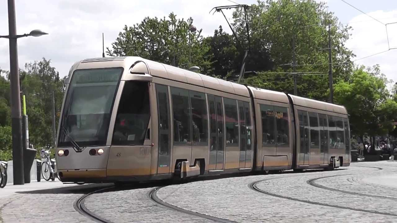 Tramway d 39 orl ans 1 youtube - Horaire tram orleans ligne a ...