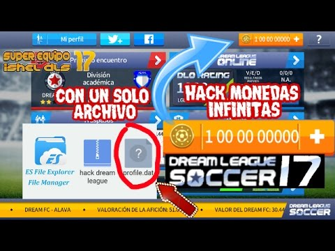 super hack monedas infinitas para dream league soccer 2017 sin root