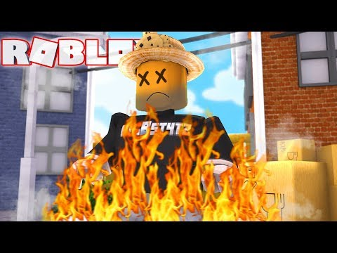 BURNT TO DEATH in ROBLOX MURDER MYSTERY 2!