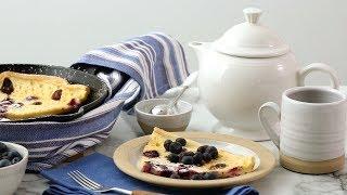 Blueberry Dutch Pancakes - Martha Stewart