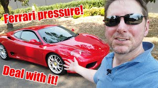 I bought a Ferrari 360 Modena - can I deal with the pressure?! | MGUY