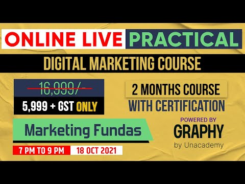 Digital Marketing Live Course by Marketing Fundas | Online Digital Marketing Practical Course Hindi