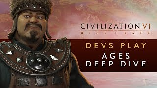 Video Civilization VI: Rise and Fall - Devs Play Mongolia & Netherlands (Ages Deep Dive) download MP3, 3GP, MP4, WEBM, AVI, FLV Maret 2018