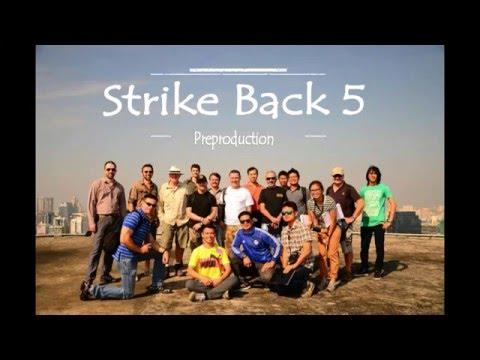 Strike Back 5 preproduction David Gray Behind the s