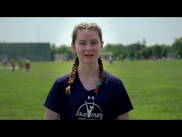 Responsibility #StartsWithMe: Julie Foudy Sports Leadership Academy