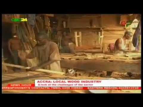 Ghana: Local Wood industry
