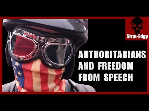 Authoritarians and Freedom From Speech