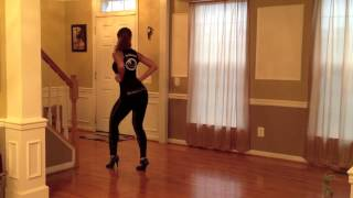 Ladies Bachata Styling 2 - La Alemana (Rear View)