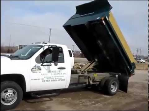chevrolet silverado  hd dump body truck  sale sold  auction march   youtube