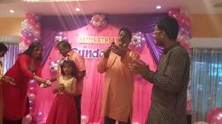 Glimpse of Birthday party at Hotel Buhari Chrompet Chennai Event Entertainers