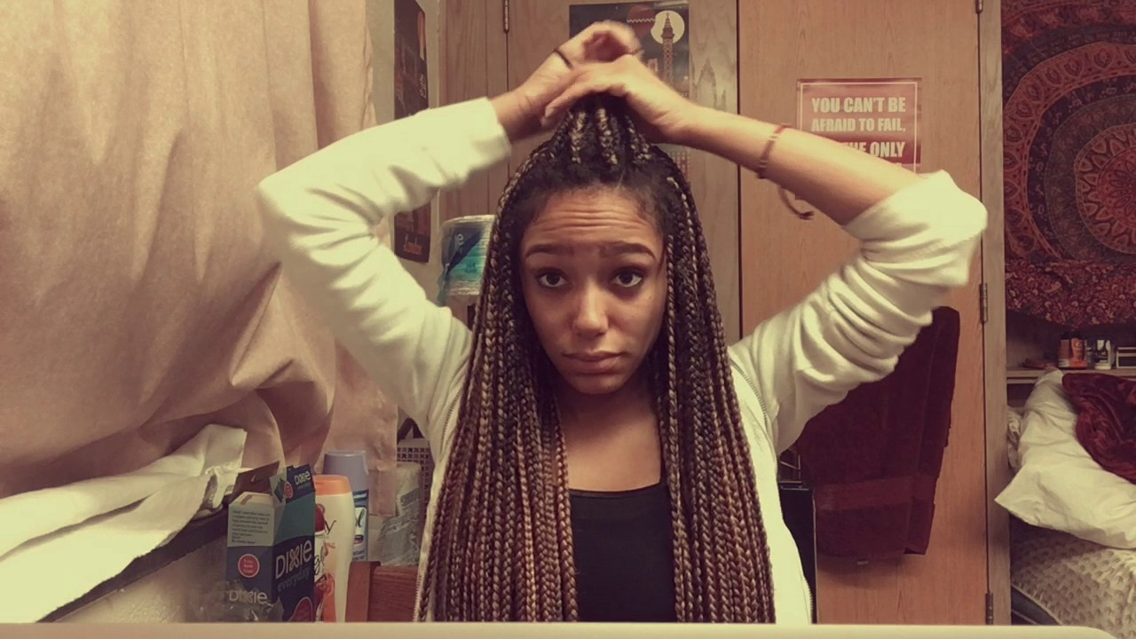 Box Braids Hairstyles Youtube: 6 Hairstyles For Long Box Braids