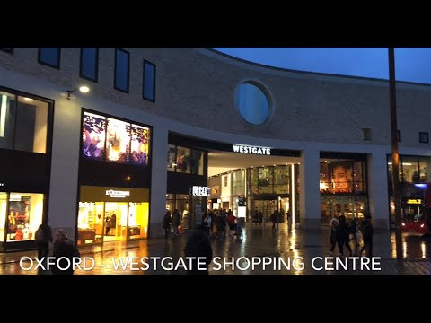 The Westgate shopping centre in Oxford city centre, United Kingdom