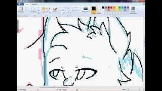 Speedpaint[Warrior Cats]Graystripe x Silverstream[MS Paint][HD]